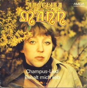 Cover - Angelika Mann: Champus-Lied