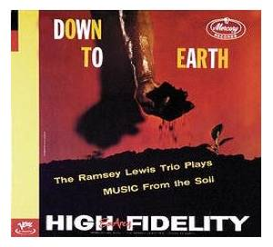 Cover - Ramsey Lewis Trio, The: Down To Earth