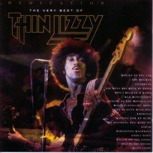 Thin Lizzy: Dedication - The Very Best Of - Cover