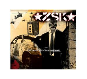 ZSK: Discontent Hearts And Gasoline - Cover