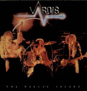 Vardis: World's Insane, The - Cover