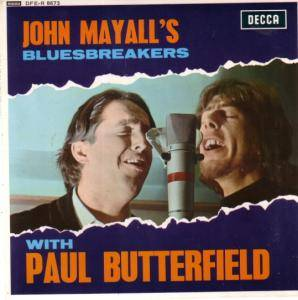 Cover - John Mayall's Bluesbreakers: With Paul Butterfield