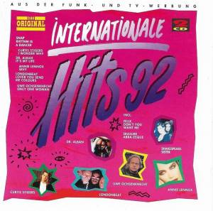 Cover - Chyp-Notic: Internationale Hits 92