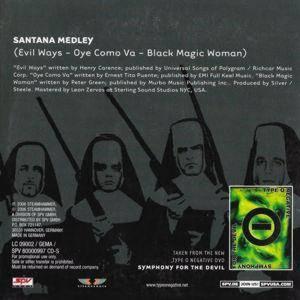 Santana Medley | Promo-Single-CD (2006, Cardsleeve) von