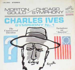 Cover - Charles Ives: Symphony No. 1 (First Recording)