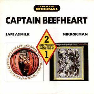 Captain Beefheart And His Magic Band: Safe As Milk / Mirror Man - Cover