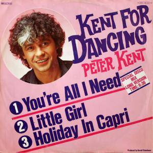 Cover - Peter Kent: Kent For Dancing