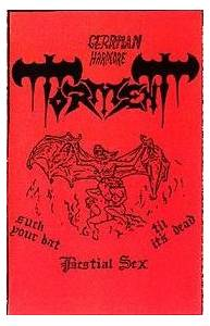 Cover - Torment: Rehearsal Nov.2, 1986