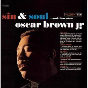 Cover - Oscar Brown Jr.: Sin & Soul ...And Then Some