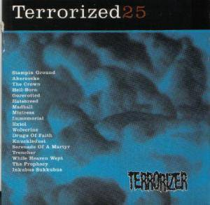Cover - Drugs Of Faith: Terrorizer 115 - Terrorized 25