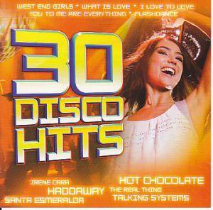 Cover - Haddaway: 30 Disco Hits