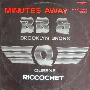 Cover - Brooklyn, Bronx & Queens Band, The: Minutes Away