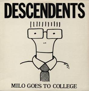 Descendents: Milo Goes To College - Cover