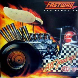 Fastway: All Fired Up - Cover