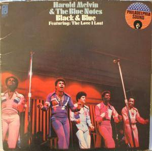 Harold Melvin & The Blue Notes: Black & Blue - Cover