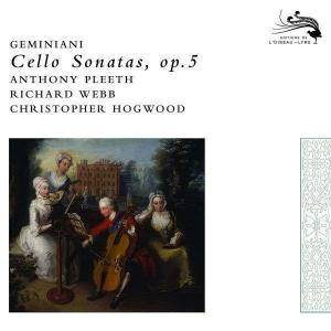 Cover - Francesco Geminiani: Cello Sonatas Op. 5