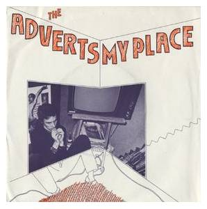 Cover - Adverts, The: My Place