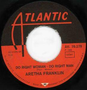 Cover - Aretha Franklin: Do Right Woman - Do Right Man