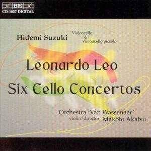 Cover - Leonardo Leo: Six Cello Concertos