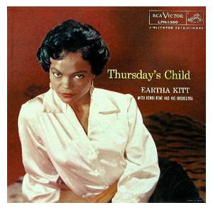 Cover - Eartha Kitt: Thursday's Child