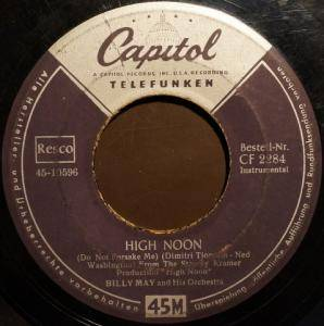 Cover - Billy May: High Noon