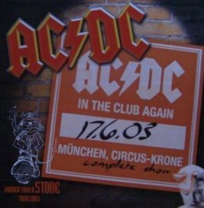 AC/DC: In The Club Again - Cover