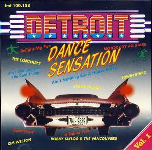 Detroit Dance Sensation - Vol. 1 - Cover