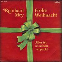 Cover - Reinhard Mey: Frohe Weihnacht