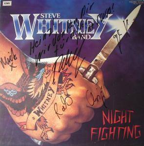 Cover - Steve Whitney Band: Night Fighting