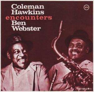 Coleman Hawkins: Encounters Ben Webster - Cover