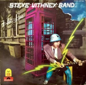 Cover - Steve Whitney Band: Hot Line