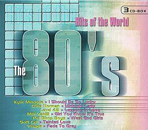 Cover - Joe Dolce: 80's - Hits Of The World, The