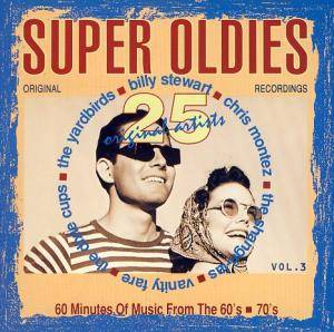 Cover - Tommy Tucker: 25 Super Oldies Vol. 3