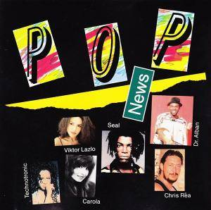 Pop News 4/91 - Cover