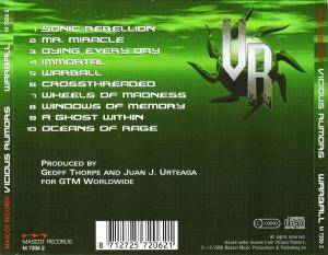Vicious Rumors: Warball (CD) - Bild 3
