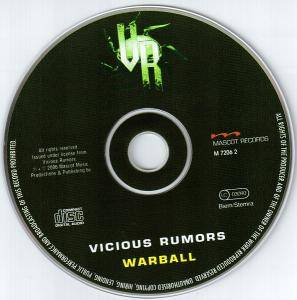 Vicious Rumors: Warball (CD) - Bild 4
