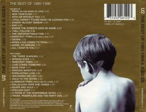 U2: The Best Of 1980-1990 & B-Sides (2-CD) - Bild 2