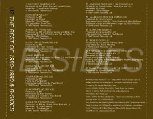 U2: The Best Of 1980-1990 & B-Sides (2-CD) - Bild 6