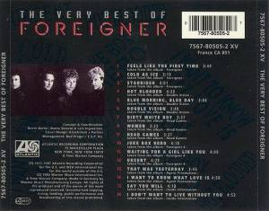 Foreigner: The Very Best Of Foreigner (CD) - Bild 2
