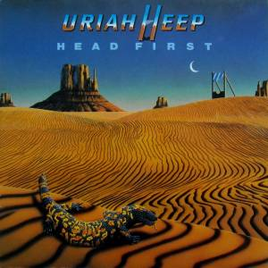 Uriah Heep: Head First - Cover