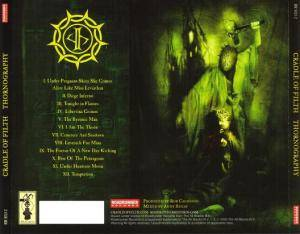 Cradle Of Filth: Thornography (CD) - Bild 4
