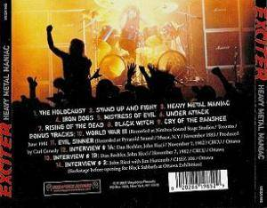 Exciter: Heavy Metal Maniac (CD) - Bild 3