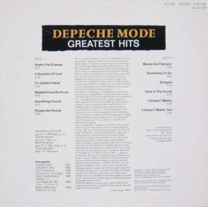Depeche Mode: Greatest Hits (LP) - Bild 2