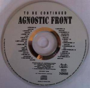Agnostic Front: To Be Continued - The Best Of (CD) - Bild 3