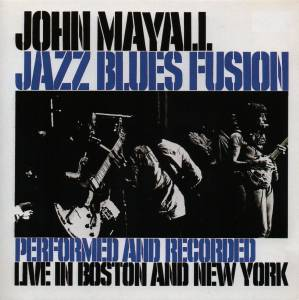 John Mayall: Jazz Blues Fusion - Cover