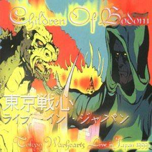 Children Of Bodom: Tokyo Warhearts - Live In Japan 1999 - Cover