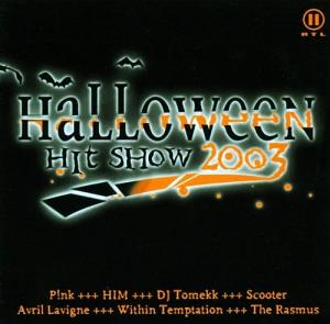 Halloween Hit Show 2003 - Cover