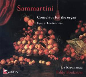 Cover - Giuseppe Sammartini: Concertos For The Organ Opus 9