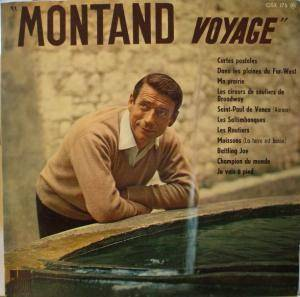 Cover - Yves Montand: Montand Voyage