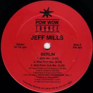 Cover - Jeff Mills: Berlin / Late Night